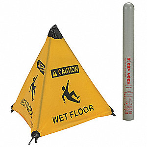 Floor Sign, Wet Floor, Eng