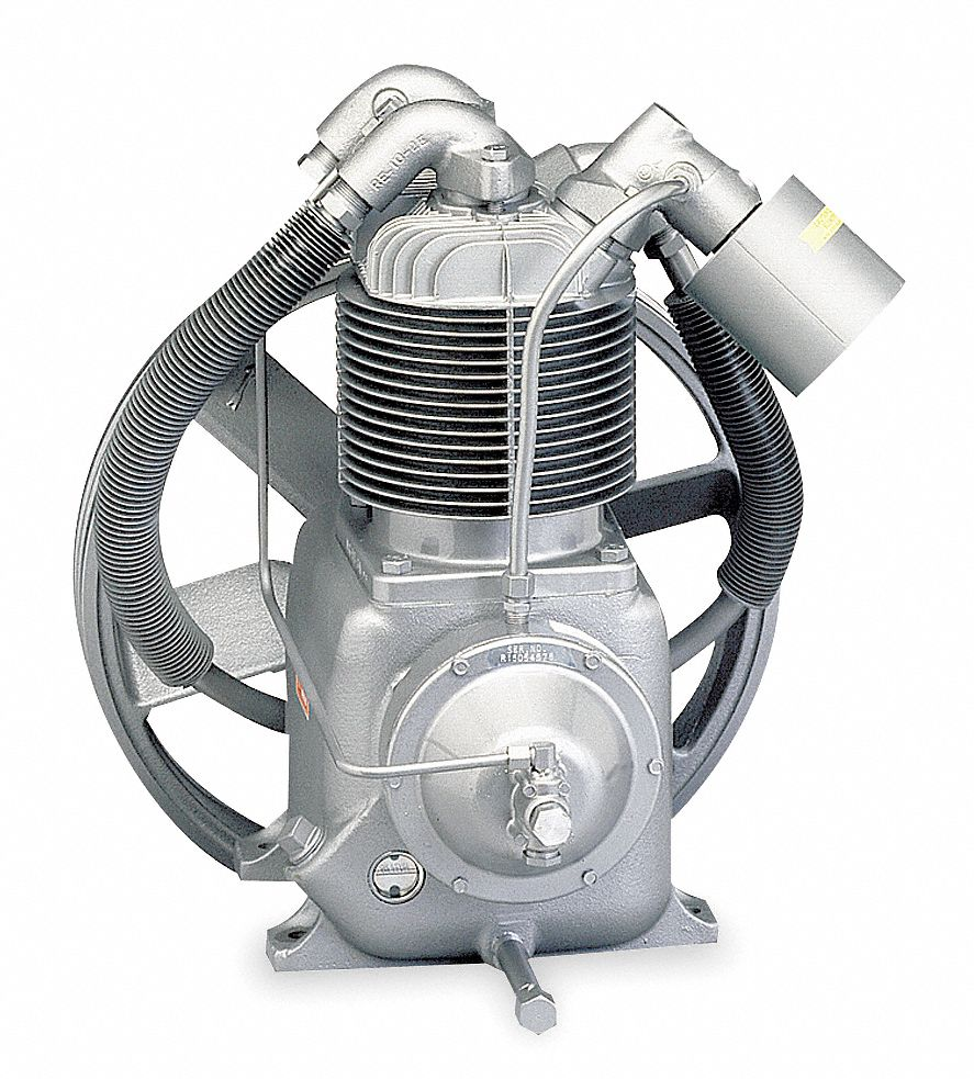 Replacement Air Compressor Pump >> CHAMPION 2-Stage Splash Lubricated Air Compressor Pump with 2 qt. Oil Capacity - 3Z180|R2-30A ...