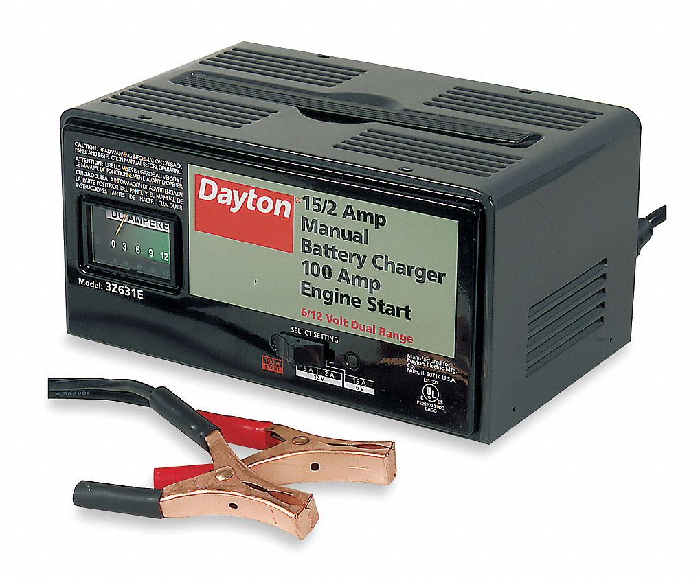 Dayton Battery Charger Automotive Chargers And Boosters Wiring Diagram 3z631