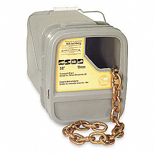 Chain,Grade 70,3/8 Size,60 ft.,6600 lb.
