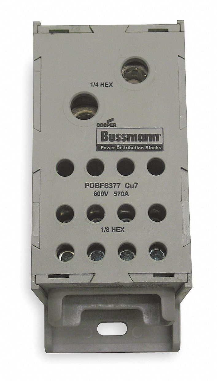 bussmann power distribution block  570 max  amps  number