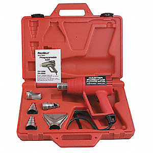 Heat Gun Kit,130 to 1000F,11A