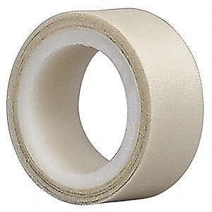Cloth Tape,3/4 In x 5 yd,7 mil,White