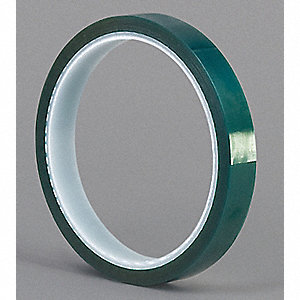 "Masking Tape, 18 yd. x 3/4"", Dark Green, 3.3 mil"