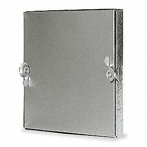 Duct Access Door,5-11/16 In.,Square