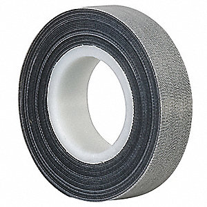 Reclosable Fastener,1/2 In x 50 ft,Black