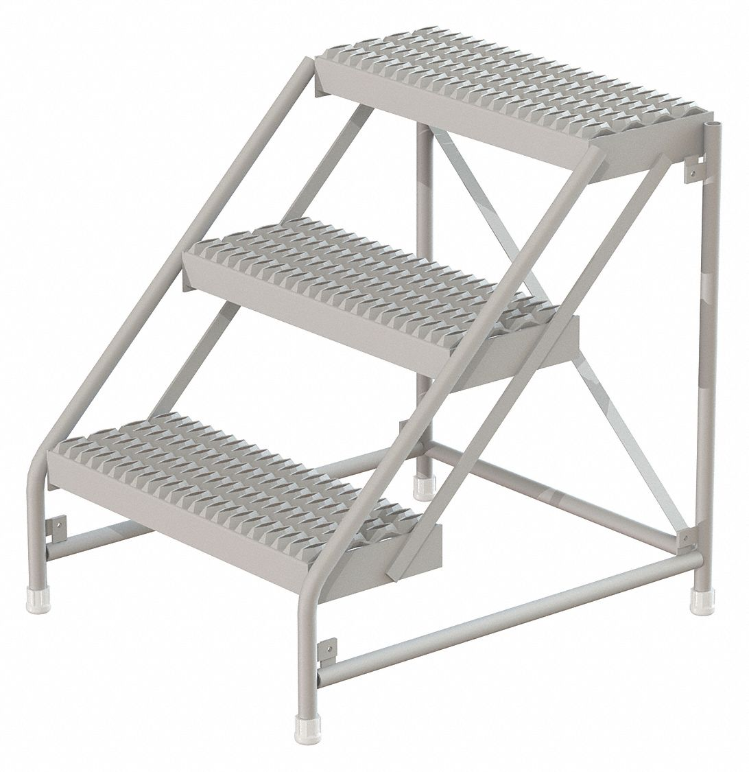 Tri Arc Aluminum Step Stand 30 Quot Overall Height 500 Lb