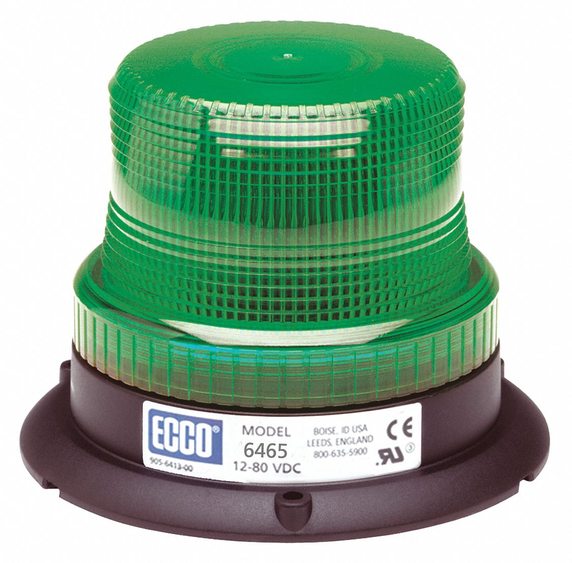 ECCO Beacon Light, Green, Flashing - 406A70