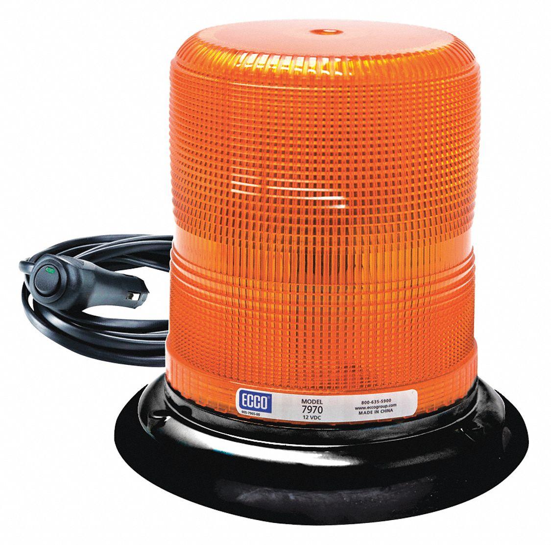 ECCO Beacon Light, Amber, Flashing - 406A95