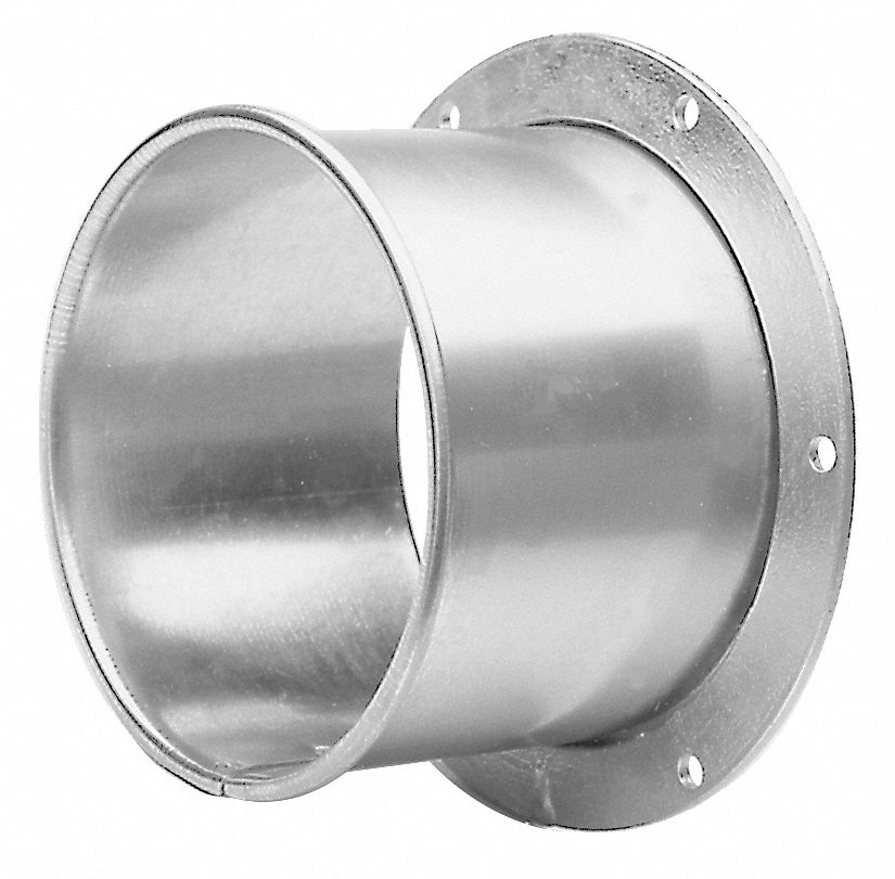Nordfab Galvanized Steel Angle Flange Adapter 4 Quot Duct