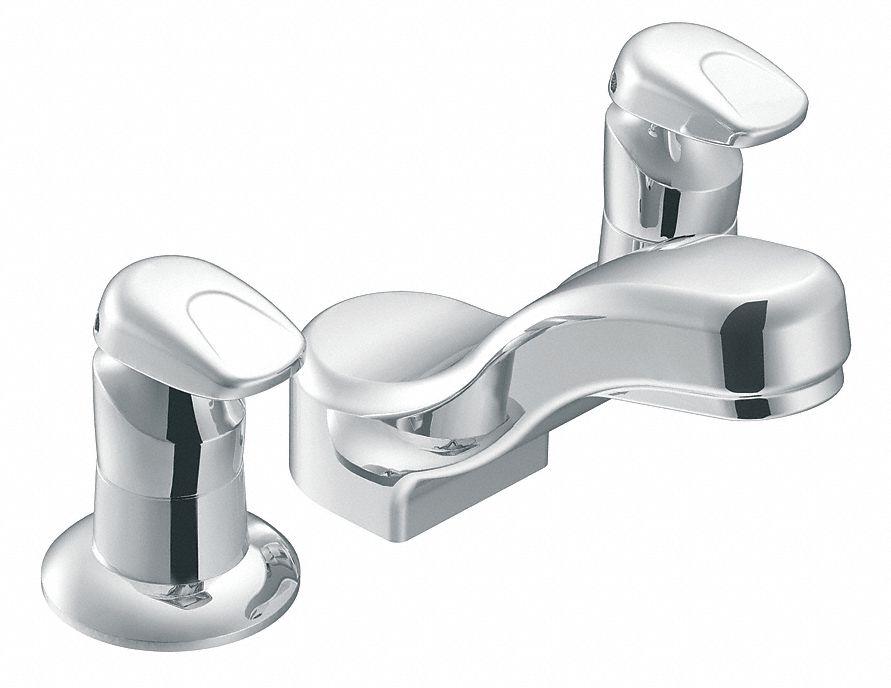 Moen Commercial Low Arc Bathroom Sink Faucet Metering