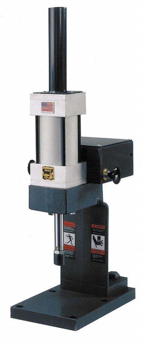 Dake Corporation Pneumatic Air Arbor Press 1 5 Tons