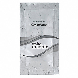 White Marble Conditioner, Clean Fragrance, 0.25 oz., 500 PK