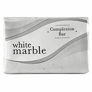 White Marble Basics Bar Soap, Fresh Fragrance, #3/4, 1000 PK