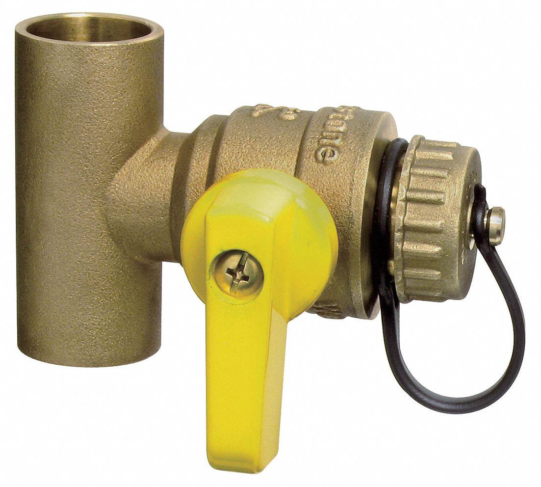 Webstone 1 2 Quot Low Lead Brass Boiler Drain Valve Cup X Cup