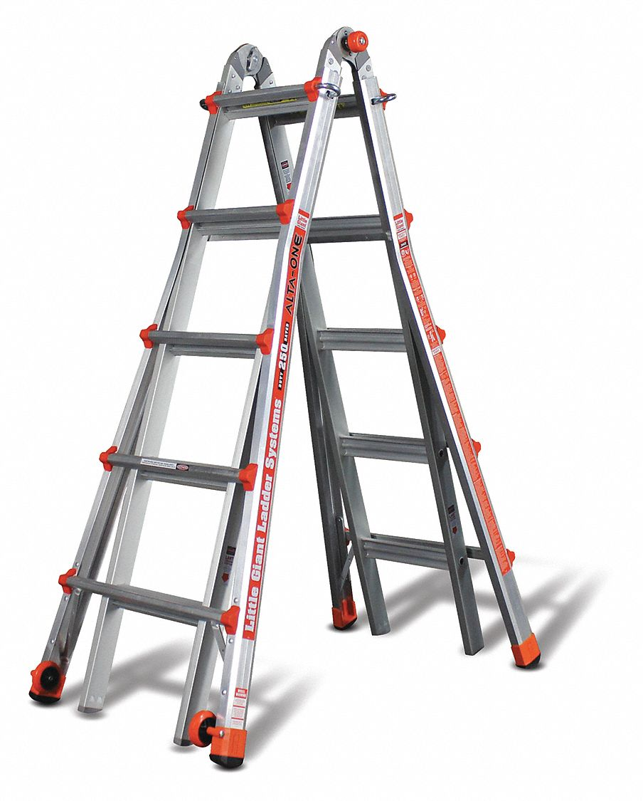 Little Giant Multipurpose Ladder Aluminum 22 Ft 40p127