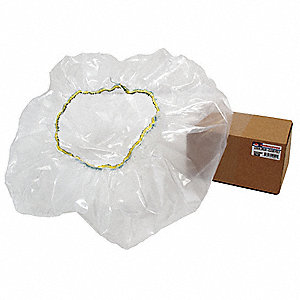 Plastic Disposable Poly Drum Cover, For Use With Concrete Mixers, Mfr. No. MIX59015C