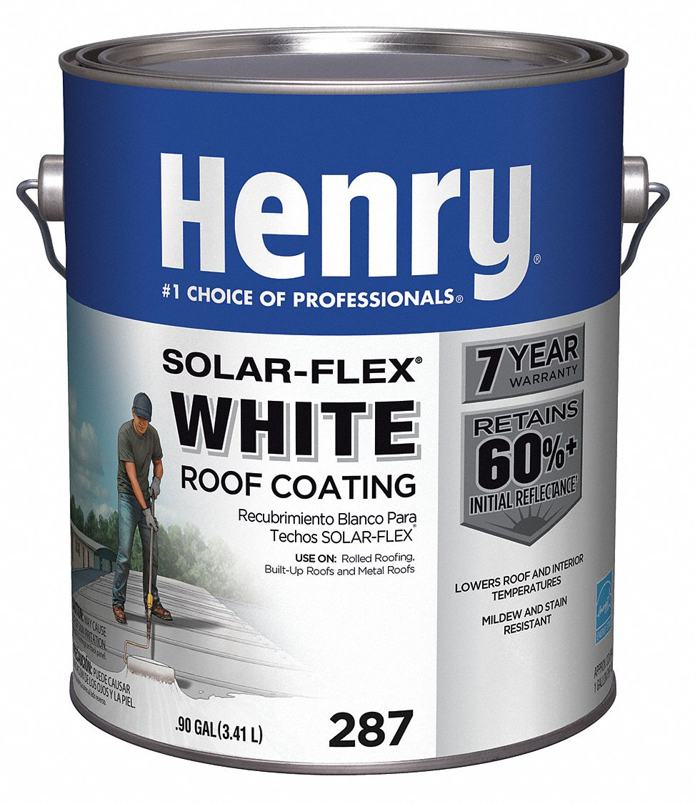 Henry Protective Roof Coating 0 9 Gal White 40p315