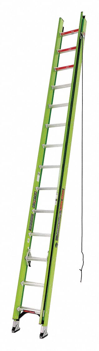 Little Giant 28 Ft Fiberglass Extension Ladder 375 Lb