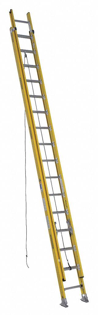 Werner Extension Ladder Fiberglass 32 Ft Iaa 41d262