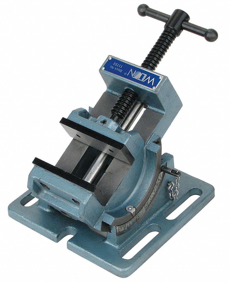 Wilton Vise Parts >> WILTON Drill Press Vise, Angle, Cradle Style, 4 in - 41D453|11754 - Grainger