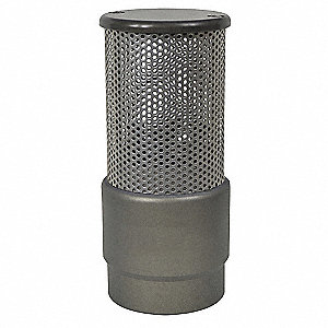 Strainer,Barrel,1-1/2 In Female NST