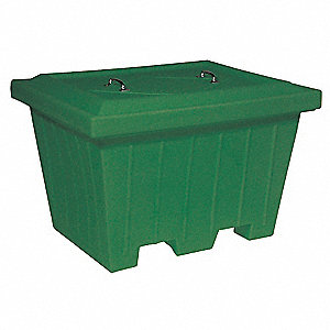 Container,500 lb.,Green,19.1 cu. ft.