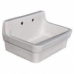 American Standard Wall Mount Utility Sink 1 Bowl White