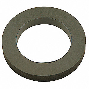 Expanded Closed Seal Neoprene Gasket, Black, For Use With Wall Hung Toilets, For Use With Grainger I