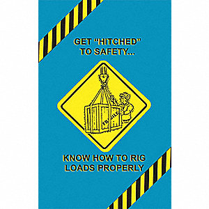 Poster,Rigging Safety,English
