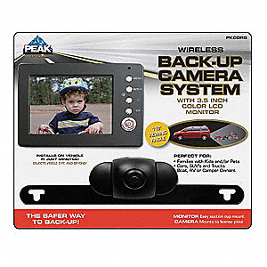 Back-Up Camera System,3 1/2 In.