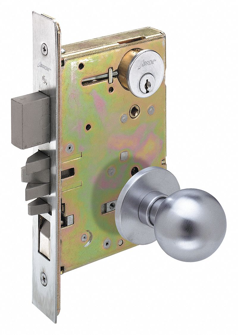 Arrow Heavy Duty Dormitory Am Series Knob Lockset 429k22