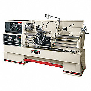 Large Spindle Bore Lathe,7-1/2HP,3P