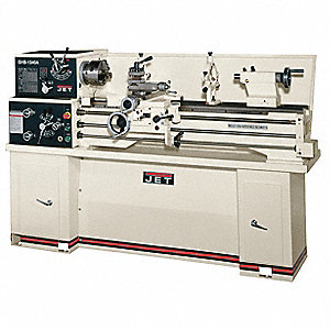 Jet Lathe,2HP,1P,43 Center In