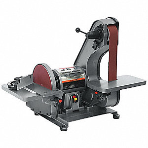 Belt/Disc Sander,3/4 HP,115V,6.5 Amps
