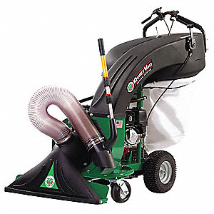 Outdoor Litter Vacuum, Drive Type: Push, Bag Volume: 36 gal., Cleaning Path: 33""