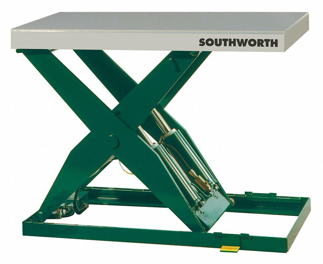 Southworth Stationary Electric Lift Scissor Lift Table