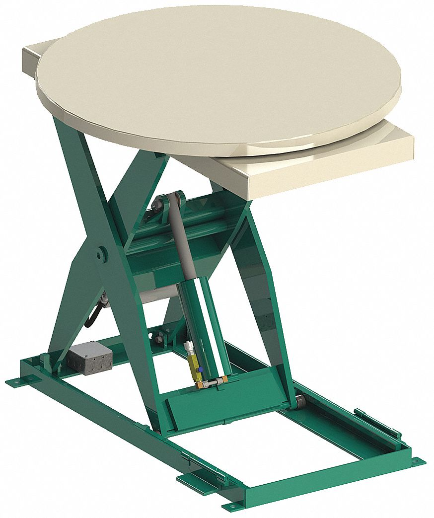 Southworth Stationary Electric Lift Scissor Lift Table