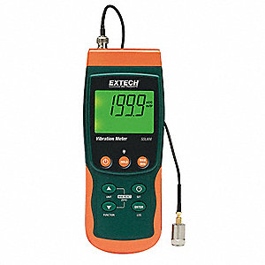 Vibration Meter/Datalogger with NIST