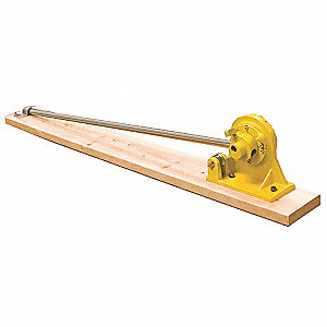 Rebar Bender/Cutter,5/8 Cap,66 in L