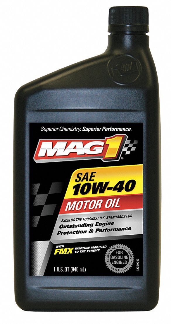 Mag 1 Conventional Engine Oil 1 Qt Bottle Sae Grade