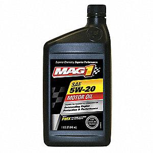 Mag 1 synthetic blend engine oil 1 qt bottle sae grade for Sae 5w 20 synthetic blend motor oil