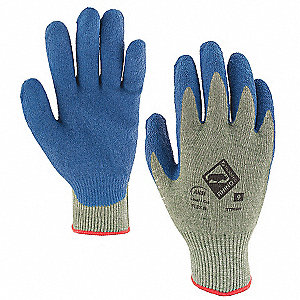 Cut Resistant Gloves, Cut Level 4, Natural Rubber Latex Coating