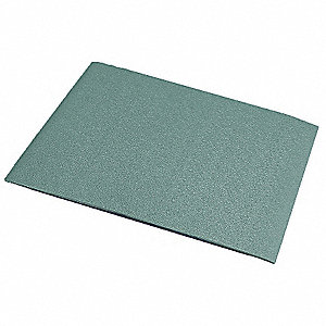 "Wall Covering, Teal, Vinyl, 96"" Length, 48"" Height, 3/64"" Thickness"