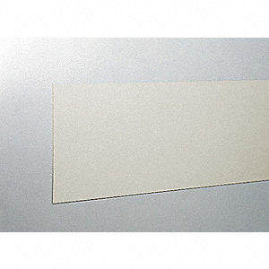 "Wall Covering, Eggshell, Vinyl, 96"" Length, 8"" Height, 3/64"" Thickness"