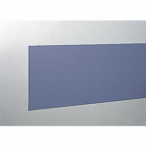 "Wall Covering, Windsor Blue, Vinyl, 96"" Length, 8"" Height, 3/64"" Thickness"