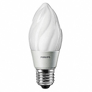 LED Lamp,F15,Indoor,4.5W,120V,2700K