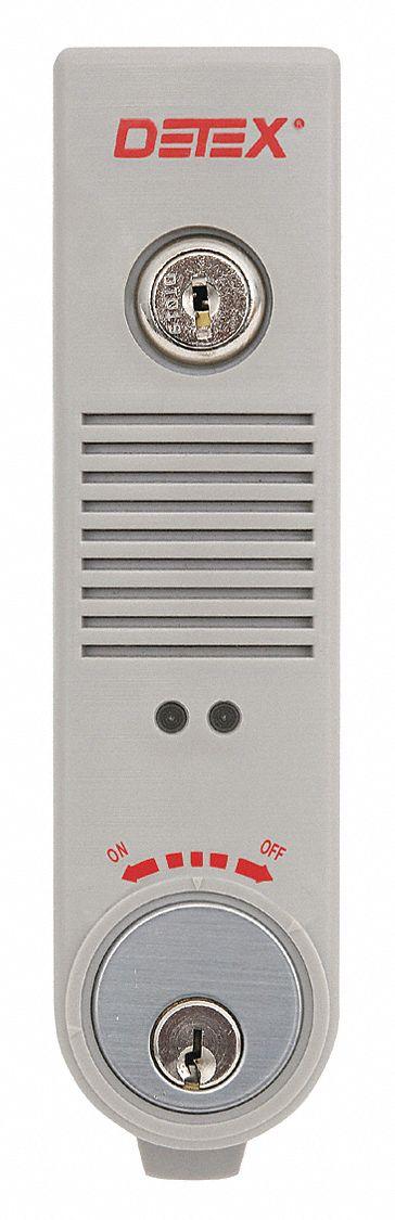 Detex Exit Door Alarm 9v Battery Ul Listed 44zv05 Eax