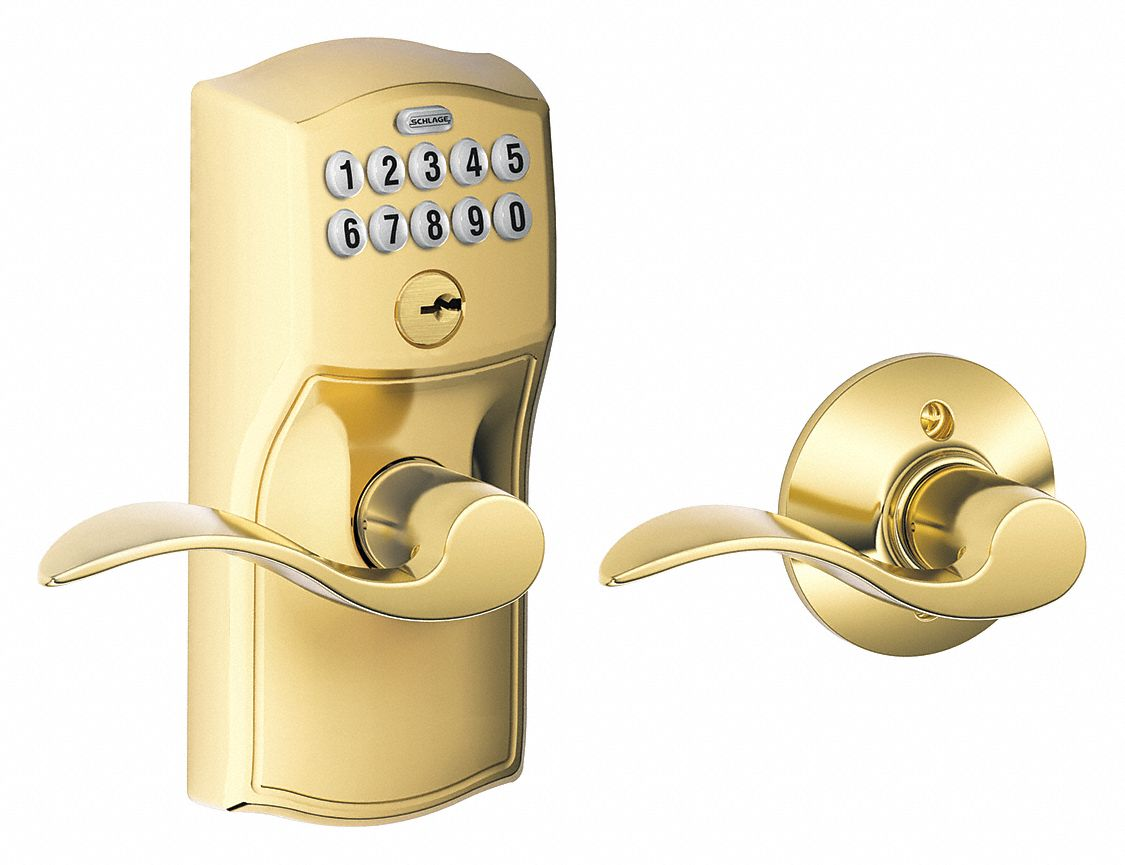 Schlage Residential Electronic Lock 2 3 8 Quot To 2 3 4