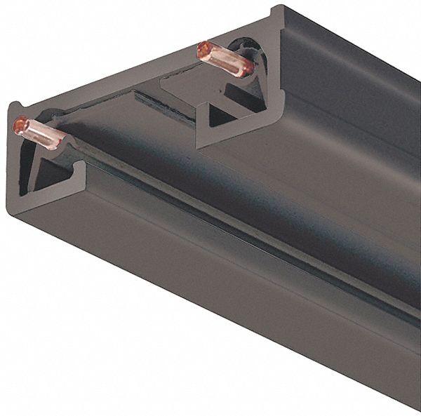 Track Lighting Maximum Length: JUNO TRAC-LITES Black 1 Circuit/s